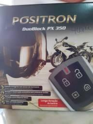 Alarme positron duoblock px 350 para moto novo instalado no seu carro
