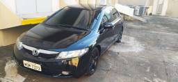 Honda Civic 2009 2009 Lxs Flex preto