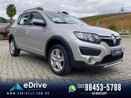 Renault SANDERO STEPWAY EXP. 1.6 - 18 mil km - Zero - Novíssimo - 2019
