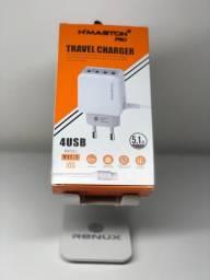 Carregador Apple com 4 entradas USB