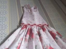 Vestido de festa  infantil  tamanho  8