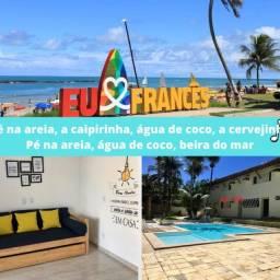 Flat no Francês a 150m da melhor praia de Alagoas (Temporada)