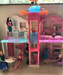 Casa Da Barbie 3 Andares com Elevador