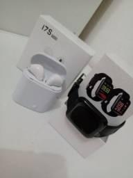Kit Promocional - Relógio D13 + Fone i7s