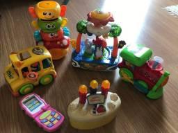 Pacote de brinquedos importados