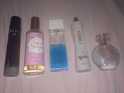 5 perfumes por apenas R$ 200