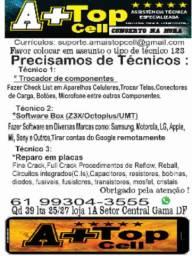 Técnicos de celulares