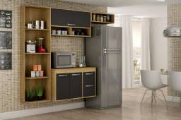 Cozinha Esmeralda Compacta - Entrega Grátis