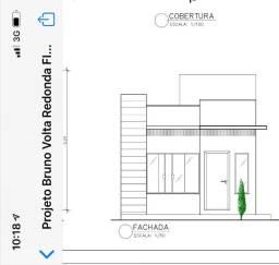 Casa em Construção de 02 Quartos em Porto Real