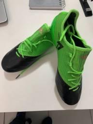 Chuteira Campo Adidas Ace 17.1 Leather FG