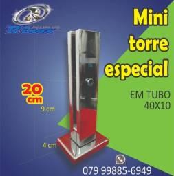 Torre Inox de 20cm