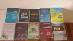 Livros Direito (Civil, Penal, Processo Penal e outros) Livros novos