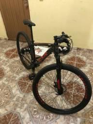 Bicicleta lótus com nota