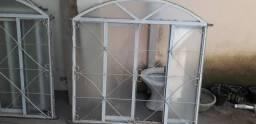 Janelas e portas de vidro