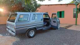 Ford F1000 Turbo diesel ano 1991 completa