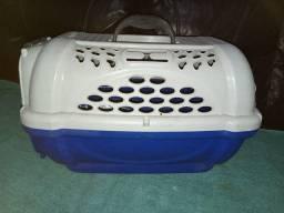 Caixa de transporte de gato para viagem