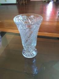 Jarro cristal 30 cm raríssimo