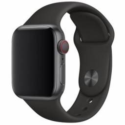 Pulseira Apple Watch 38 / 40 mm Apple, Silicone Preto - MTP62AM/A