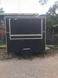 TREILER food truck para lanches ou drinks