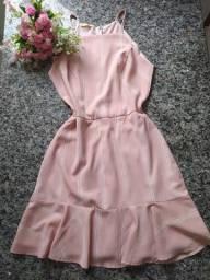 3 vestidos boneca/ rodado