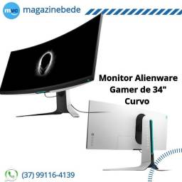 "Monitor Alienware Gamer de 34"" Curvo"