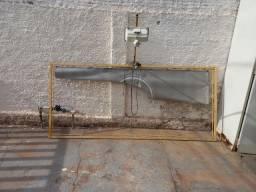 Estrutura para BANNER fachada com refletor
