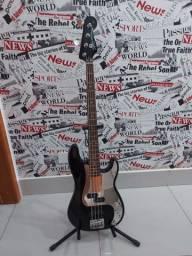 Baixo fender squier precision bass