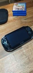 Ps Vita C/ TODOS os jogos - Desbloqueado Playstation Videogame