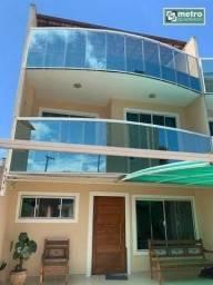 Casa com 3 dormitórios à venda, 120 m² por R$ 350.000,00 - Jardim Bela Vista - Rio das Ost