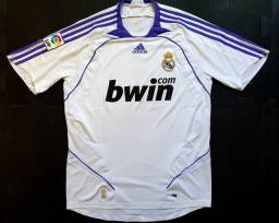 Camisa Real Madrid 2007/2008 Home - M