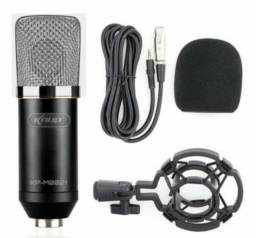 Kit Microfone Condensador Knup KP-M0021