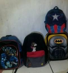 4 mochilas