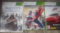 Jogos de Xbox 360 originais super conservados Todos os três juntos por r$ 100