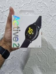 Galaxy Watch Active 2 preto 44 mm, novo lacrado, com nota fiscal