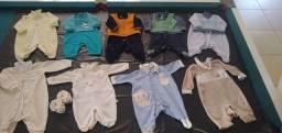 Roupas de bebê masculino semi novo