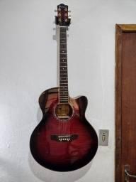 violão eagle ch70f-rb
