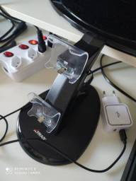 Carregador vertical para controle PS4