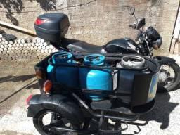Moto Titan 159 ks ano 2007 com sidecar