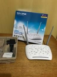 Modem roteador TP-Link Wireless TD-W8961N 2 em 1