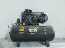 Compressor de ar Pressure 10pes 100L