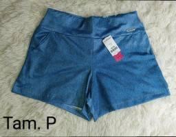 Short cirre black e jeans