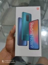 Xiaomi redmi note 9 128 gb caixa lacrada com garantia
