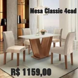 MESA CLASSIC 4 cadeiras
