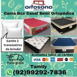Cama Box de Casal Semi Ortopédica
