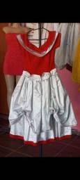 Vestido infantil daminha