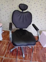 Vendo bancada e cadeira reclinável