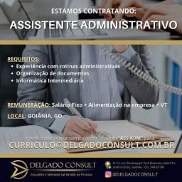 Recepcionista / Assistente adm