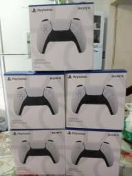 CONTROLE PS5 LACRADO ORIGINAL SONY ACEITO GAMES  e cartão