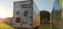 Vendo ou troco Baú para caminhão 3/4 ano2000 em ótimo estado