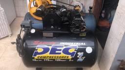 Venda de 01 compressor de ar  monofásico  com garantia